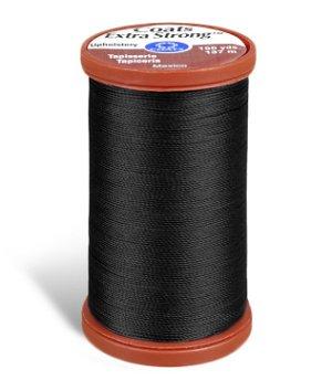 Coats & Clark Extra Strong Upholstery Thread - Black