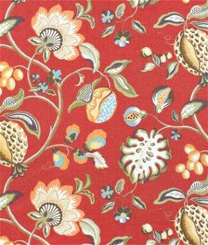 Braemore Sangria Scarlet Fabric