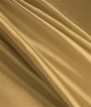 Khaki Stretch Charmeuse Fabric