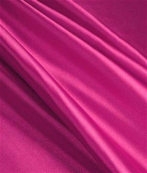 Magenta Stretch Charmeuse Fabric
