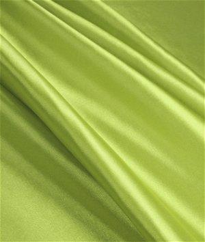 Avocado Green Stretch Charmeuse Fabric