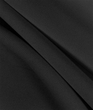 Black Scuba Double Knit Fabric