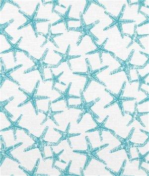 Premier Prints Sea Friends Coastal Blue Slub Fabric