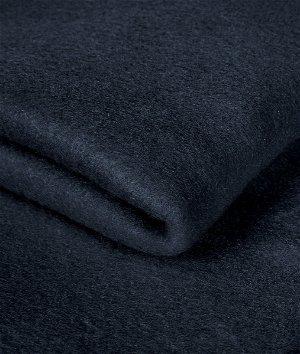 Navy Blue Fleece Fabric
