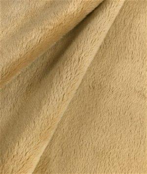 Camel Minky Fabric