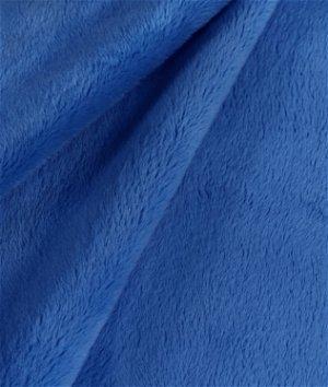 Royal Blue Minky Fabric