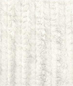 Ivory Minky Stripe Fabric