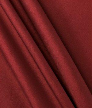 Burgundy Stretch Taffeta Fabric