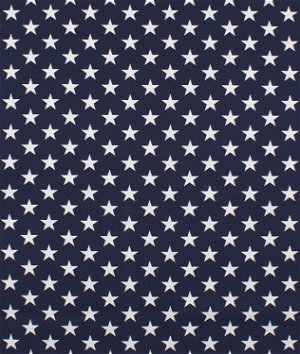 Premier Prints Stars Blue Fabric