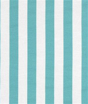 Premier Prints Stripe Coastal Blue Slub Fabric