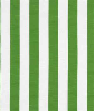 Premier Prints Stripe Coastal Green Slub Fabric