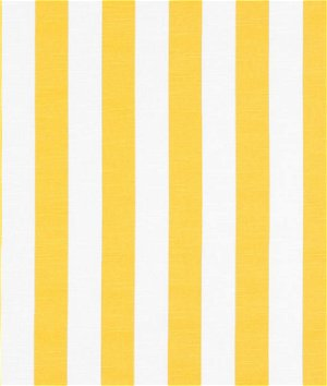 Premier Prints Stripe Corn Yellow Slub Fabric