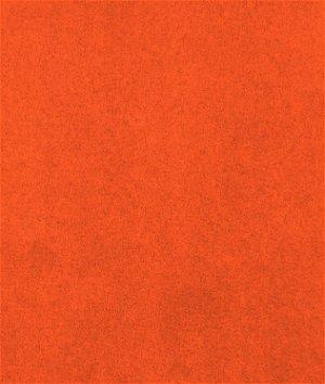 Dark Orange Microsuede Fabric