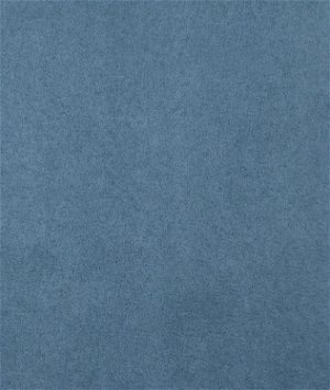 Copen Blue Microsuede Fabric