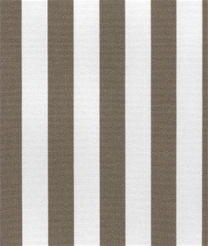 Suntex Sun Duck Taupe Stripe Fabric