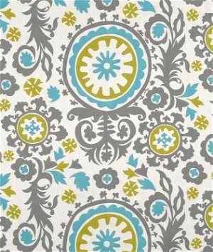 Premier Prints Suzani Summerland Natural Fabric