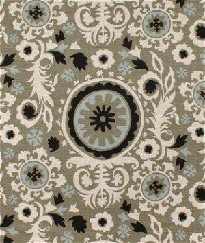 Premier Prints Suzani Stone Denton Fabric