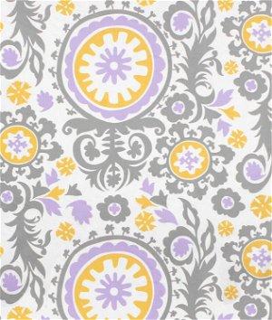 Premier Prints Suzani Wisteria Twill Fabric