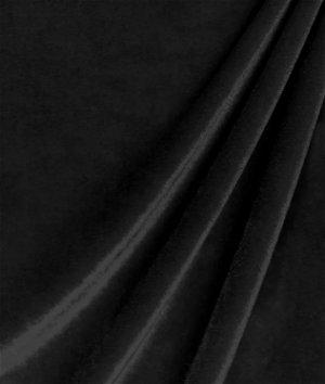 Black Stretch Velvet Fabric
