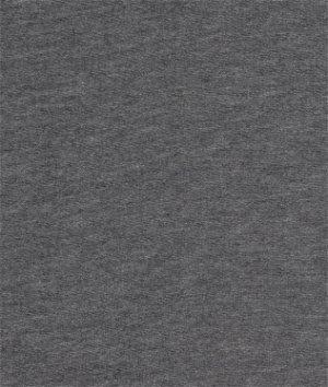 Dark Heather Gray Sweatshirt Fleece Fabric