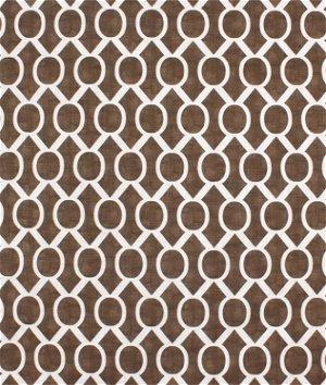 Premier Prints Sydney Italian Brown Drew Fabric