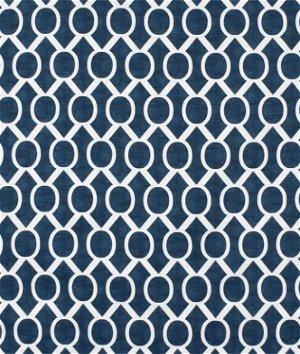 Premier Prints Sydney Premier Navy Slub Fabric