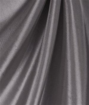 Charcoal Gray Taffeta Fabric
