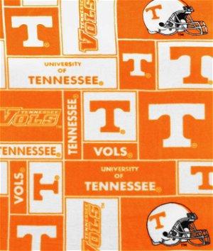 Tennessee Volunteers Allover NCAA Fleece Fabric