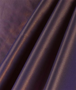 Plum Silk Taffeta Fabric
