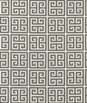 Premier Prints Towers Onyx Dark Gray/Natural Fabric