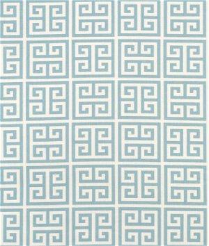 Premier Prints Towers Village Blue/Natural Fabric