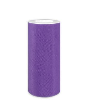"6"" Purple Tulle - 25 Yards"