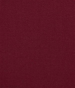 Burgundy Poly Cotton Twill Fabric