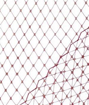 Dark Wine Russian Netting Fabric