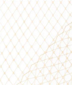 Peach Russian Netting Fabric