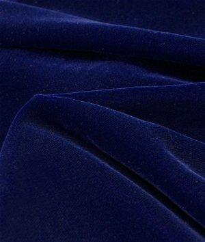 Fairvel Blue Flame Micro Velvet Fabric