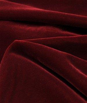 Fairvel Christmas Red Micro Velvet Fabric