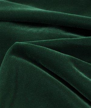 Fairvel Dark Green Micro Velvet Fabric