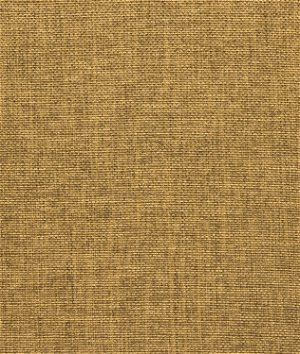 Khaki Polyester Linen Fabric