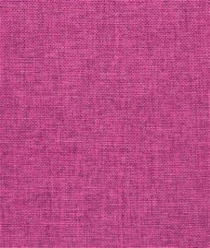 Fuchsia Polyester Linen Fabric