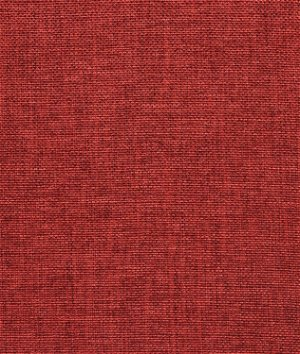 Burgundy Polyester Linen Fabric