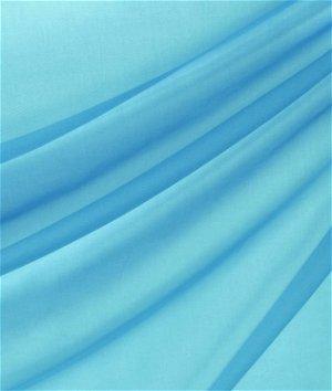 118 Inch Aquamarine Voile Fabric