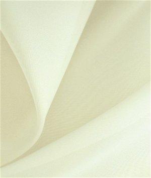 Hanes 118 Inch Cream Voile Fabric