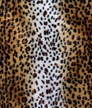Original Cheetah Velboa Faux Fur Fabric