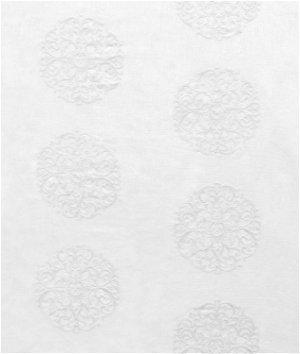 Softline Windsor Medallion White Fabric