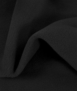 Zirotek Black 200 Wt. Fleece Fabric