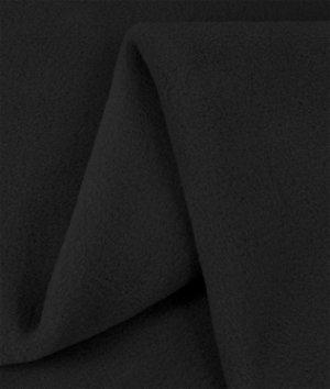 Zirotek Black 300 Wt. Fleece Fabric