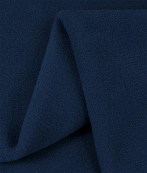 Zirotek Navy Blue 300 Wt. Fleece Fabric