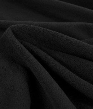 Zirotek Black 100 Wt. Micro Fleece Fabric