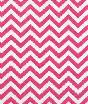 Premier Prints Zig Zag Candy Pink Twill Fabric